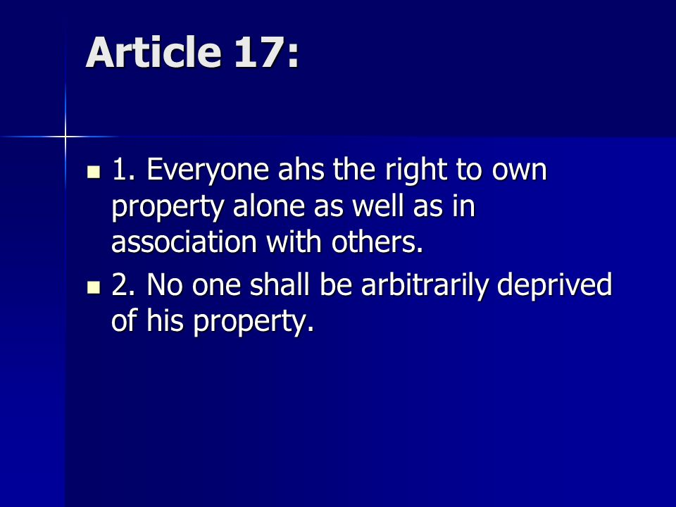 Article 16 1.