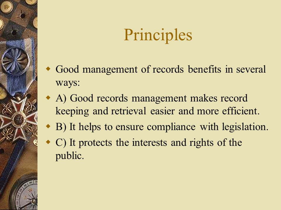 Principles of Judicial Records Management Prepared and Presented by: Gladstone Hlalakuhle