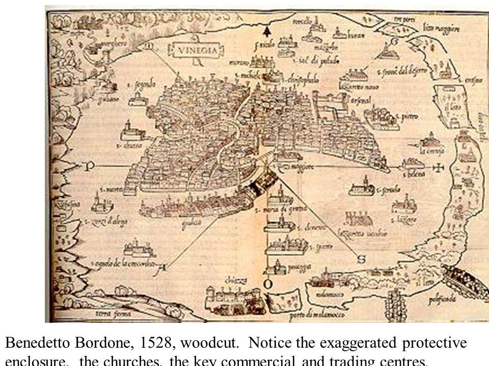 Benedetto Bordone, 1528, woodcut.