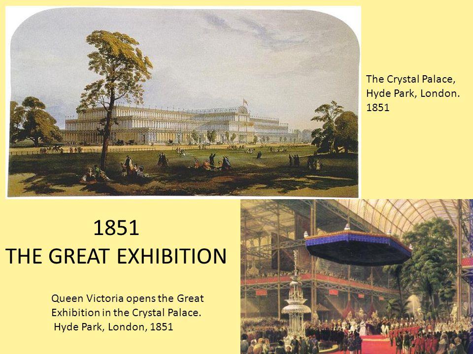 The Crystal Palace, Hyde Park, London.