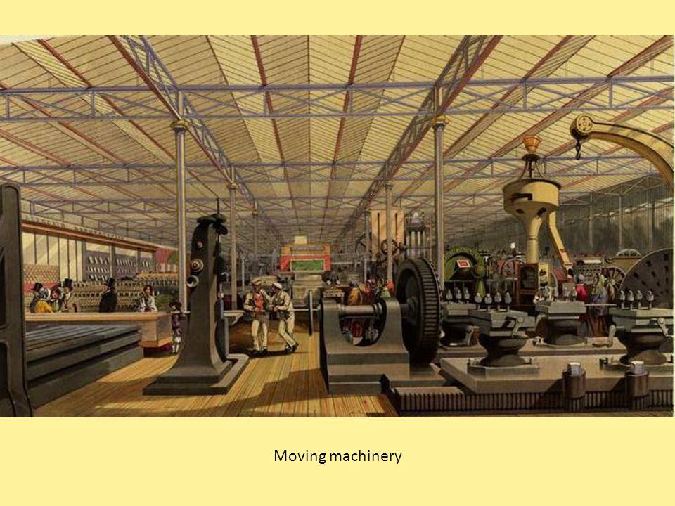 Moving machinery