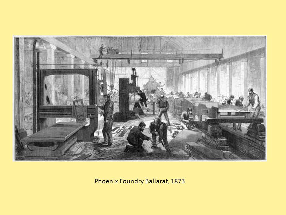 Phoenix Foundry Ballarat, 1873