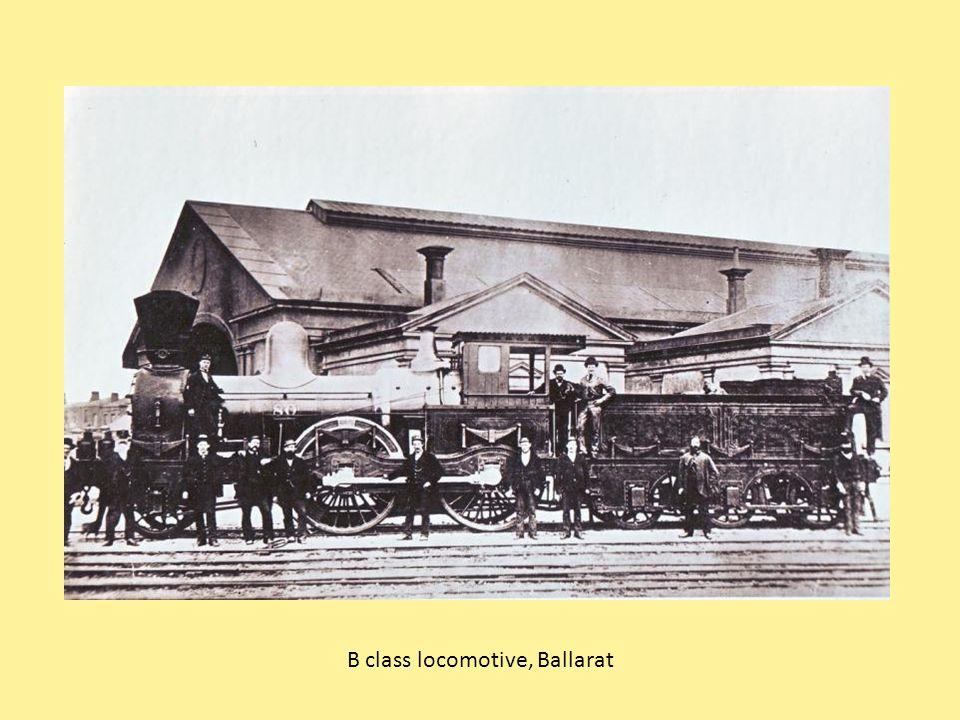 B class locomotive, Ballarat