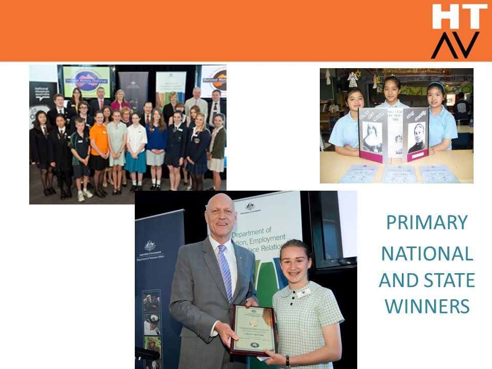 PRIMARY NATIONAL AND STATE WINNERS