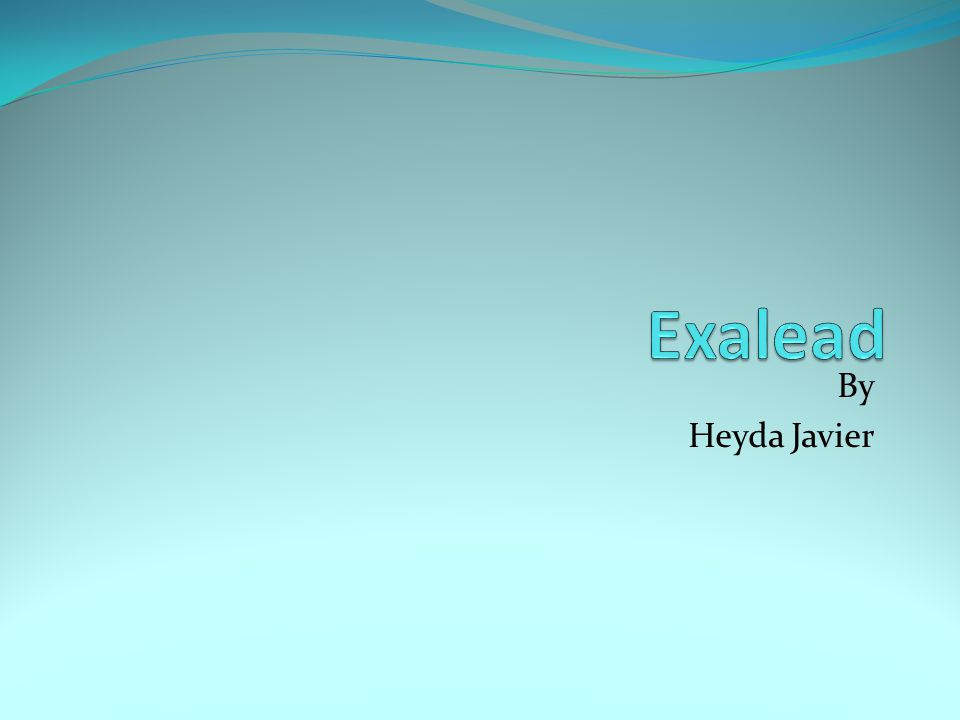 What is great about Exalead CloudView.It has differentiate technology.