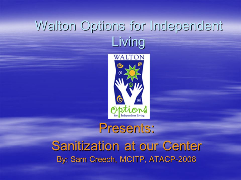 Where We Sanitize  We have a sanitization room –This includes a steam room, washer & dryer and the Hub Scrub.