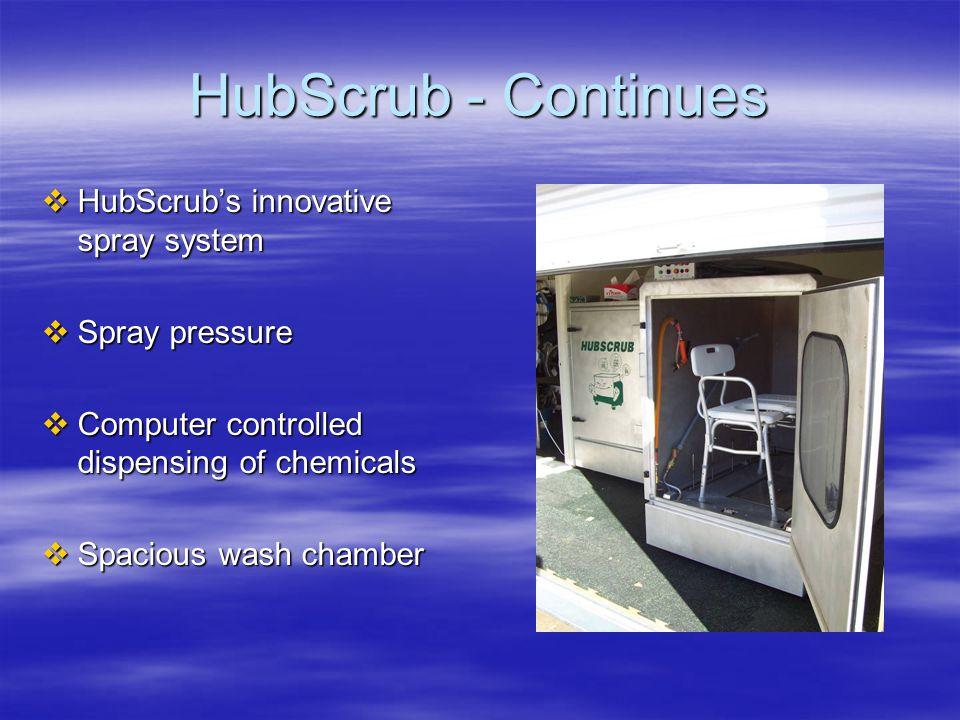 HubScrub - Continues  Chemicals  EPA Standard