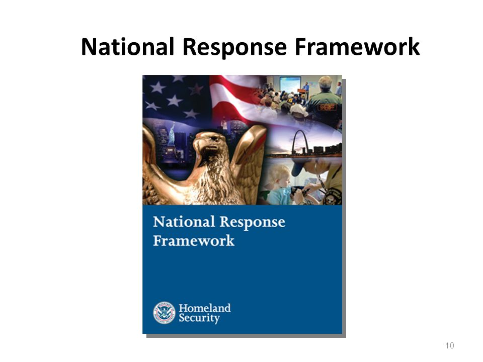 10 National Response Framework