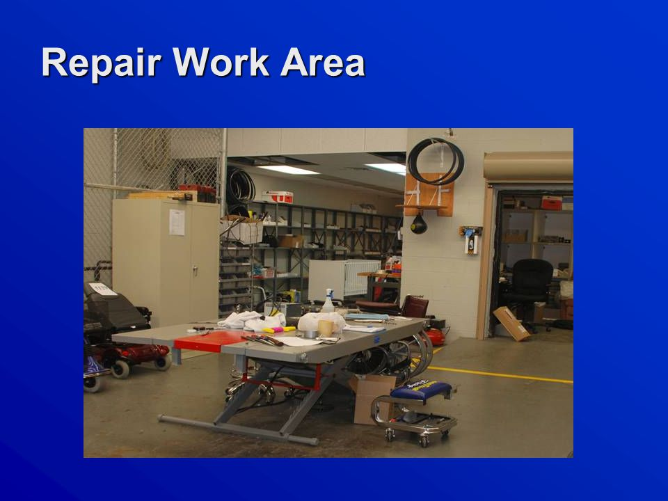 Repair Work Area