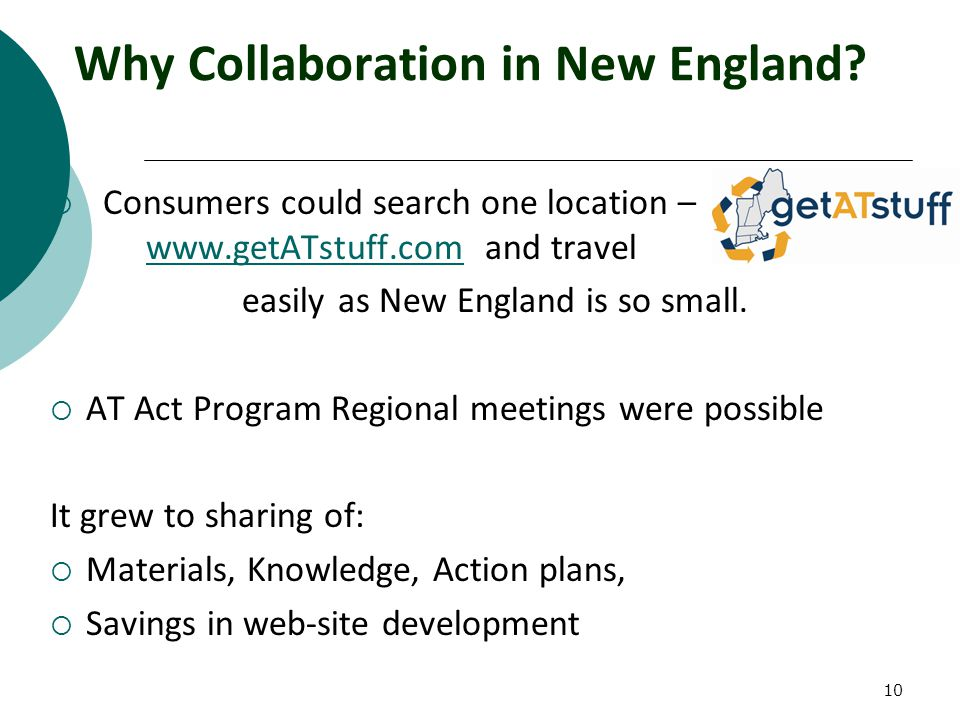 10 Why Collaboration in New England.