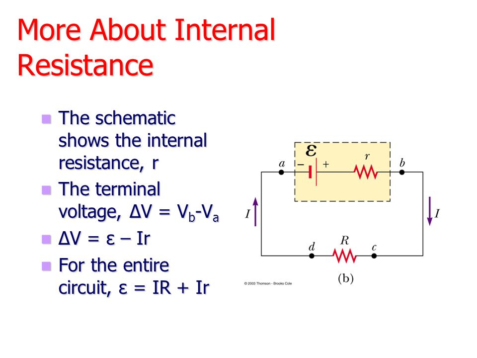 For a circuit with constant resistance, which graph represents the relation between current and potential.
