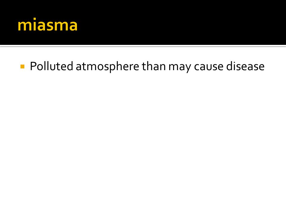  Polluted atmosphere than may cause disease