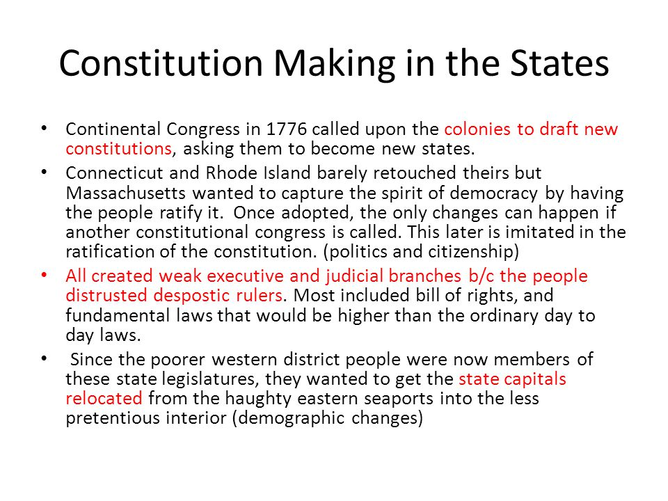 Bundle of Compromises: The Virginia Plan, NJ Plan, and Great Compromise Rather than revise the Articles, they completely scrapped it and started fresh.