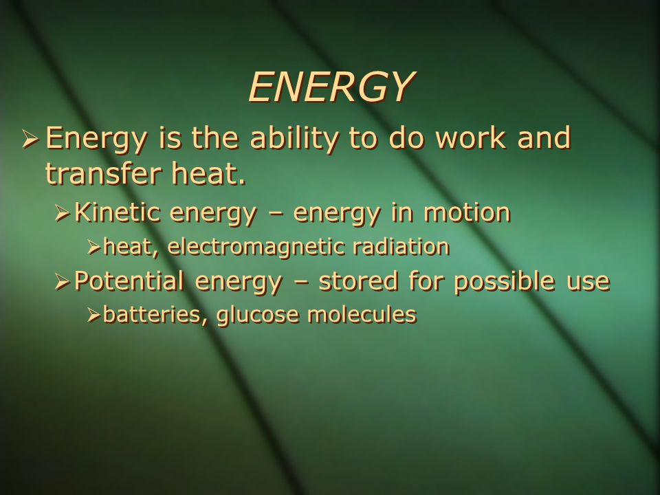 Energy Flow in an Ecosystem: Losing Energy in Food Chains and Webs  In accordance with the 2 nd law of thermodynamics, there is a decrease in the amount of energy available to each succeeding organism in a food chain or web.