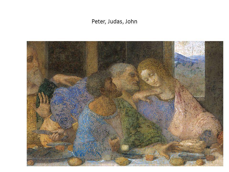 Peter, Judas, John