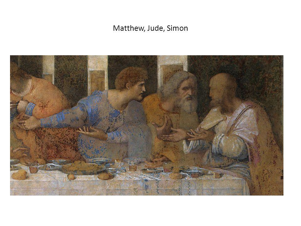 Matthew, Jude, Simon