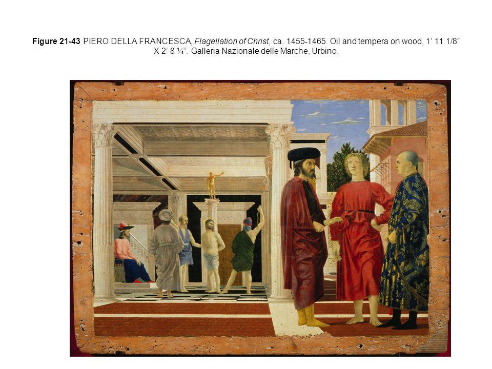 Figure 21-38 LEON BATTISTA ALBERTI BERNARDO ROSSELLINO, Palazzo Rucellai, Florence, Italy, ca.
