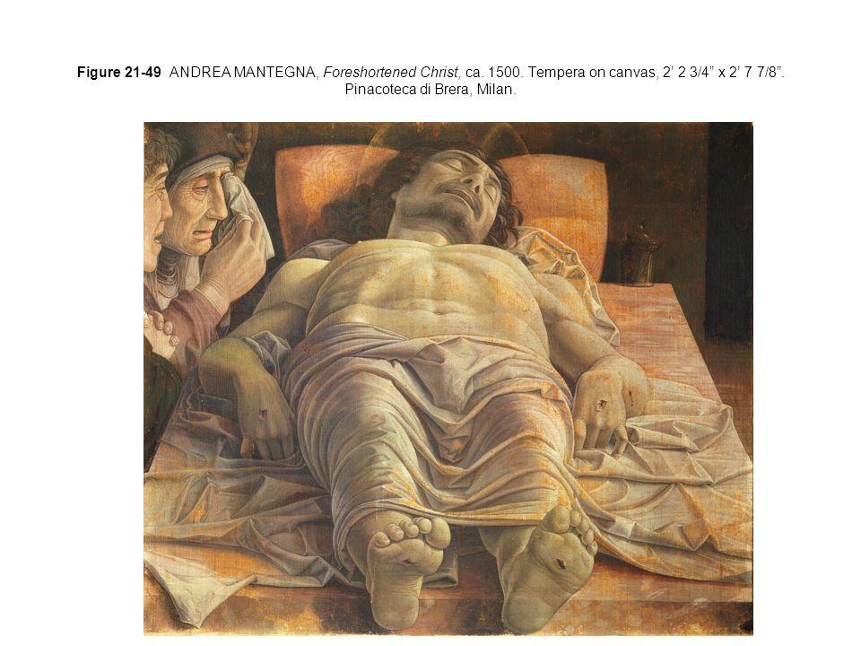 Figure 21-48 ANDREA MANTEGNA, Camera Picta (Painted Chamber), Palazzo Ducale, Mantua, Italy, 1465–1474.