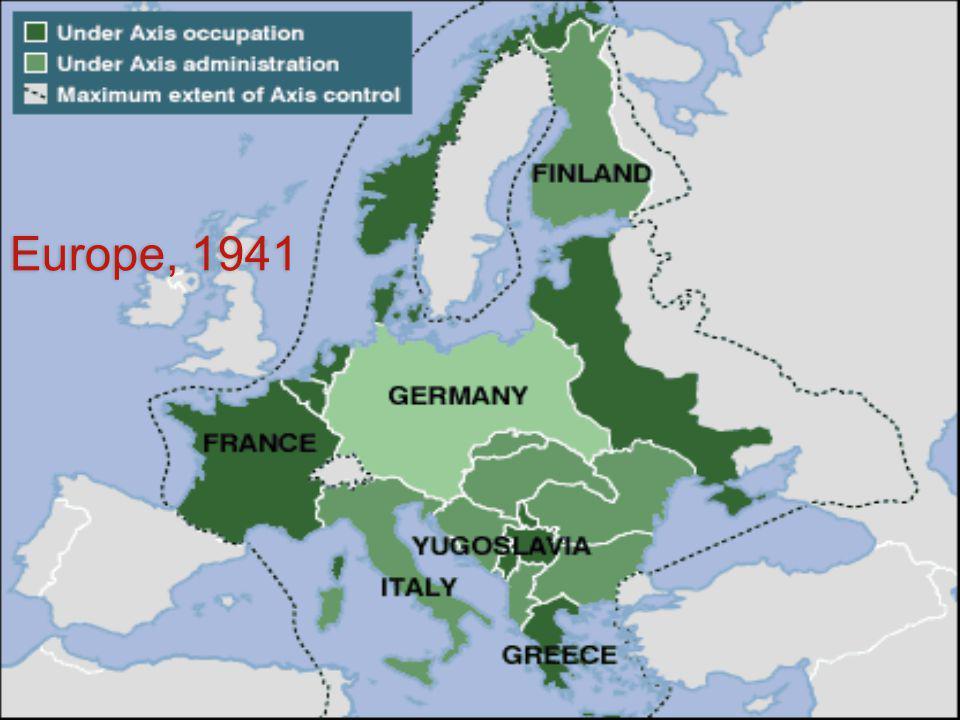 Europe, 1941