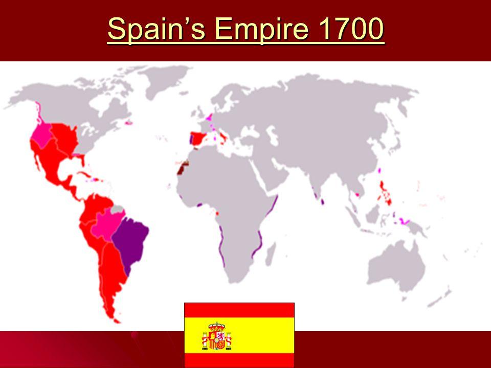 Spain's Empire 1700