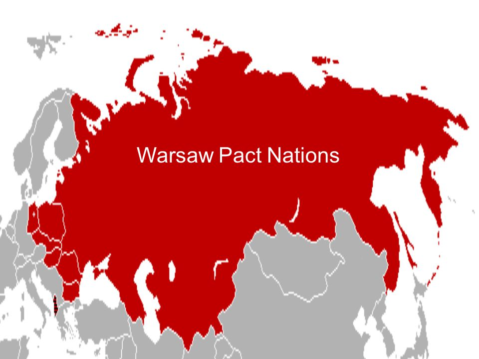 Warsaw Pact Nations