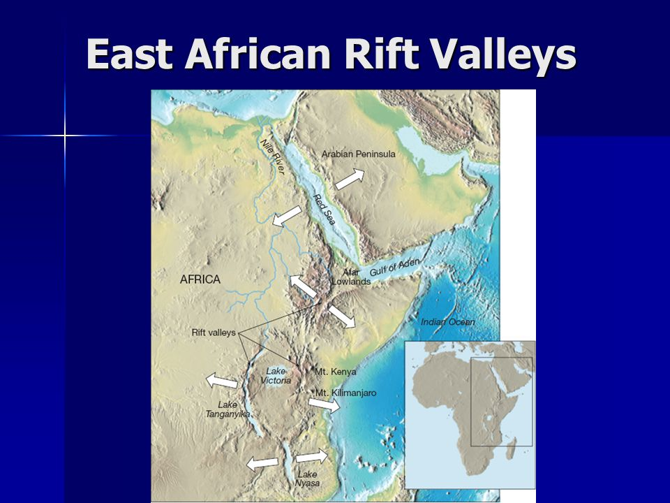 East African Rift Valleys