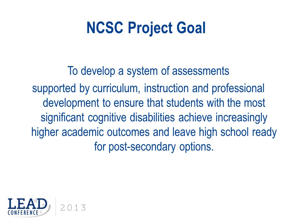 NCSC State Partners