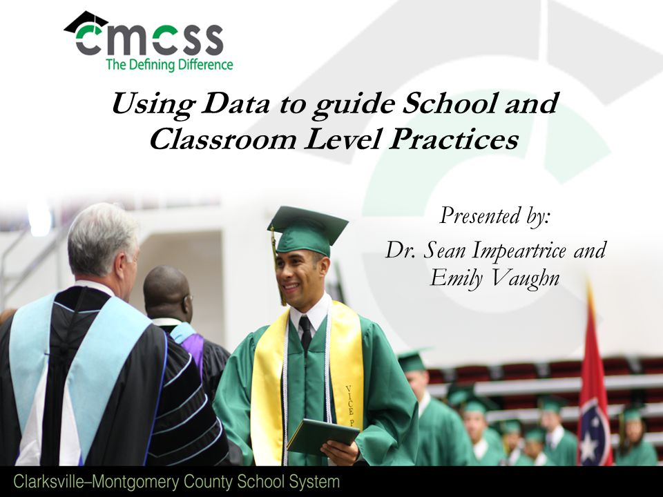 Using Data to guide School and Classroom Level Practices Presented by: Dr.
