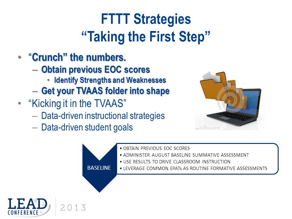 FTTT Strategies Taking the First Step Crunch the numbers.