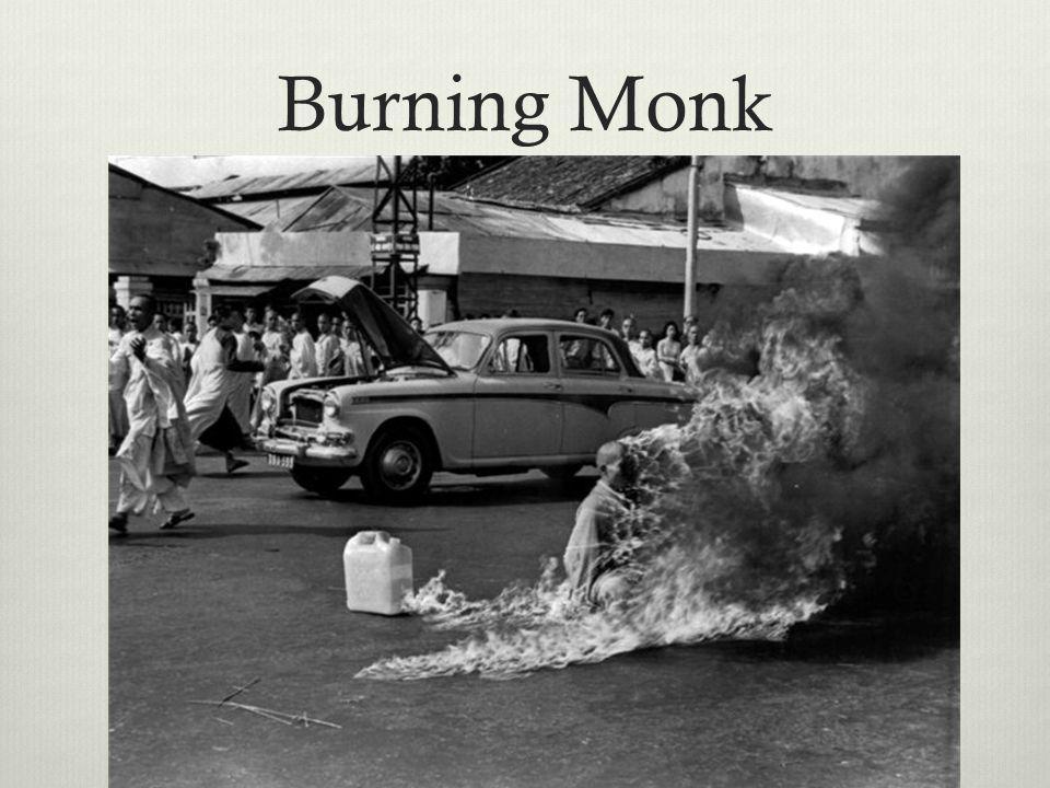 Burning Monk