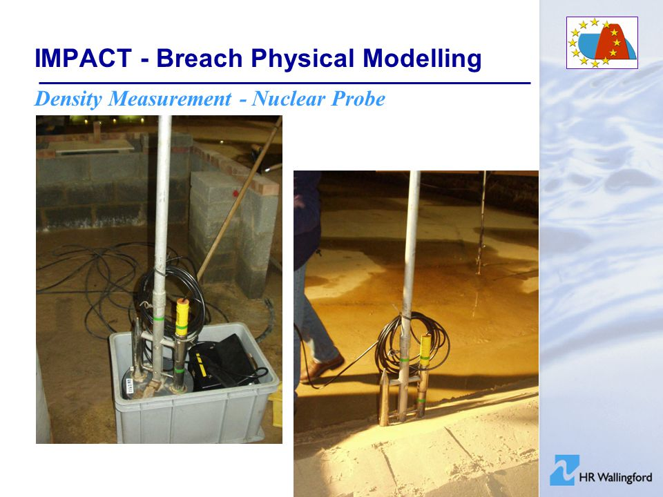 IMPACT - Breach Physical Modelling Density Measurement - Nuclear Probe