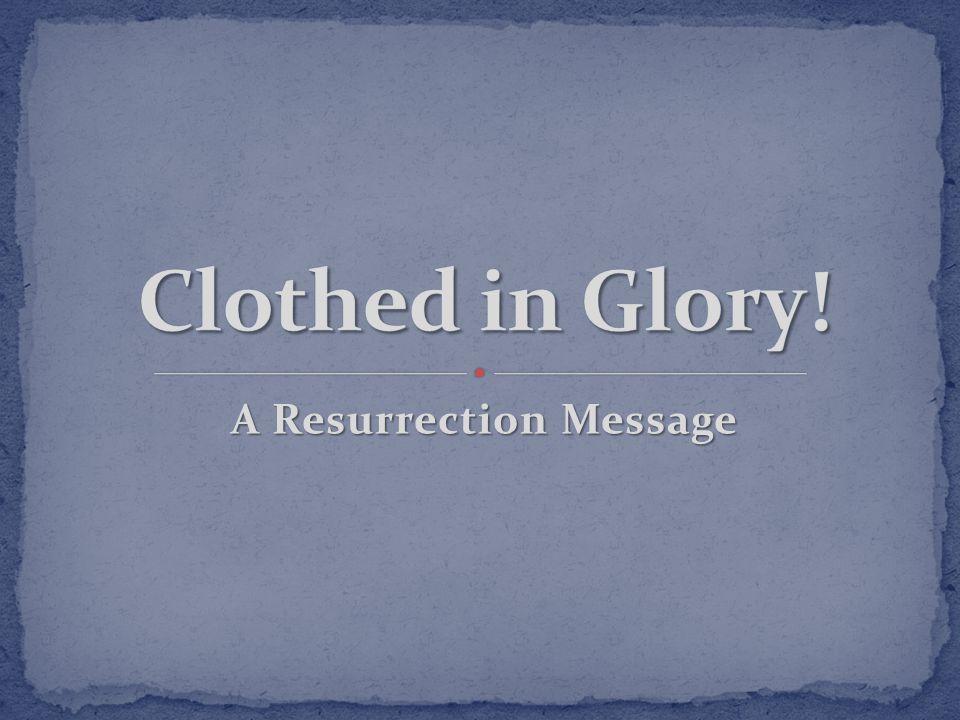 A Resurrection Message