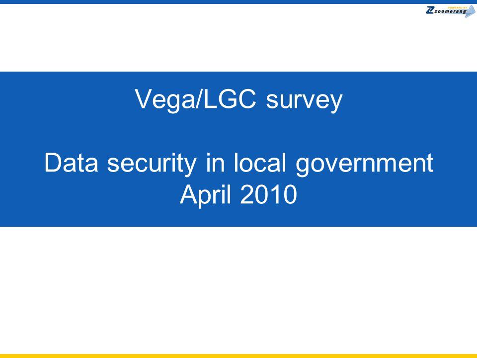 Vega/LGC survey Data security in local government April 2010