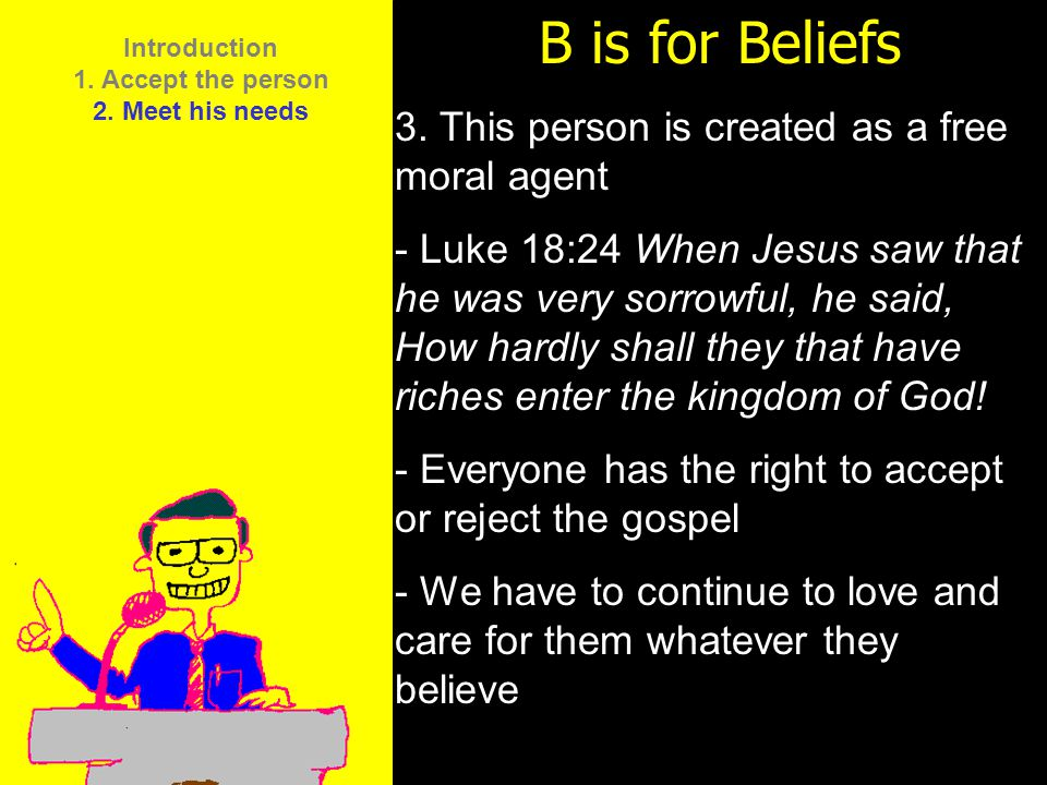 11am How to Call 11:15am Discussion 12pm Summary B is for Beliefs 4.
