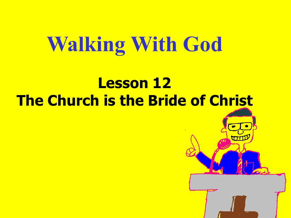 11am How to Call 11:15am Discussion 12pm SummaryIntroduction: Some think that as long as they have a personal relationship with God, they do not need to bother about the church.