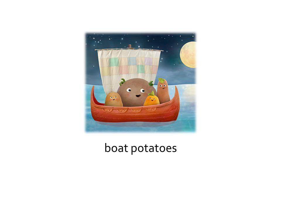 boat potatoes