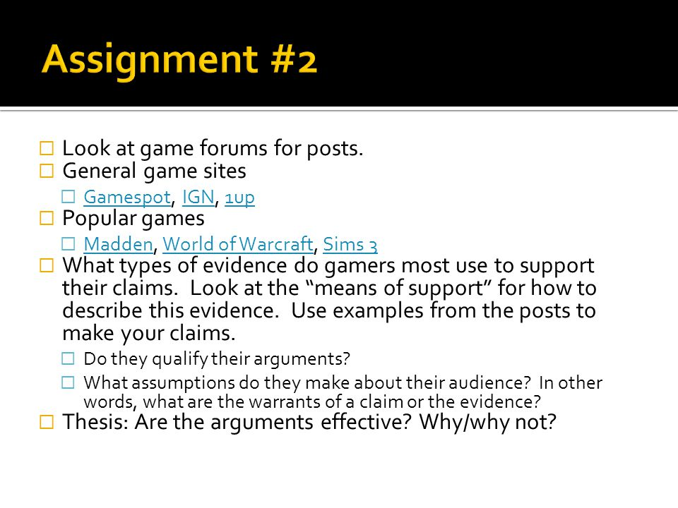 Look at game forums for posts.
