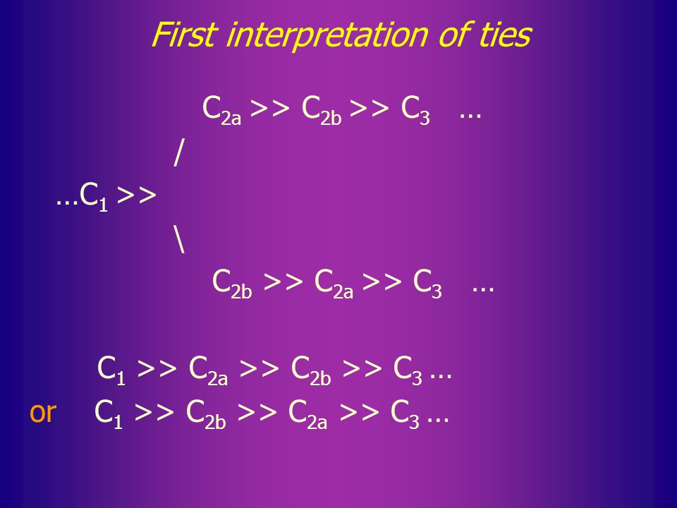 4. Ties Ties can be interpreted differently.