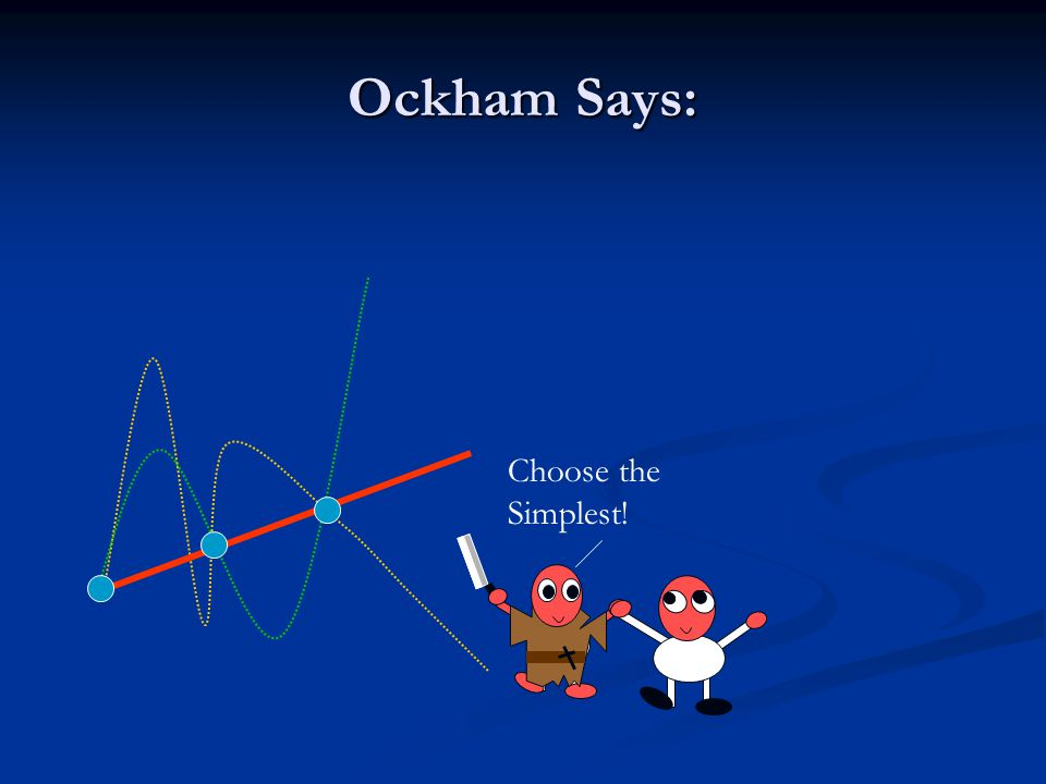 Ockham Says: Choose the Simplest!