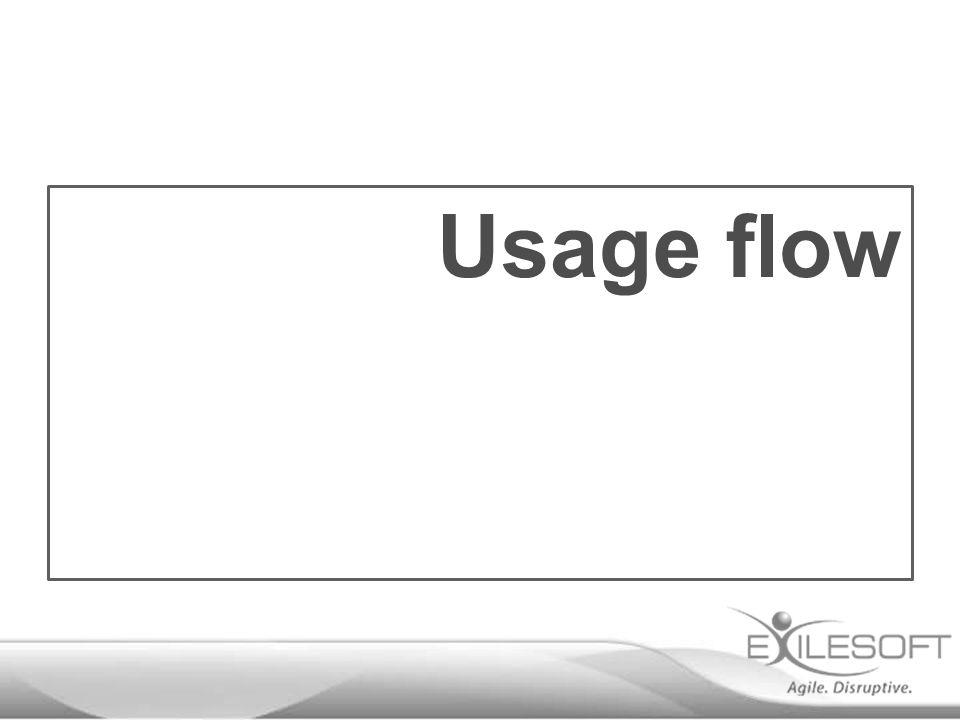 Usage flow