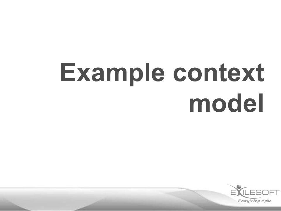 Example context model