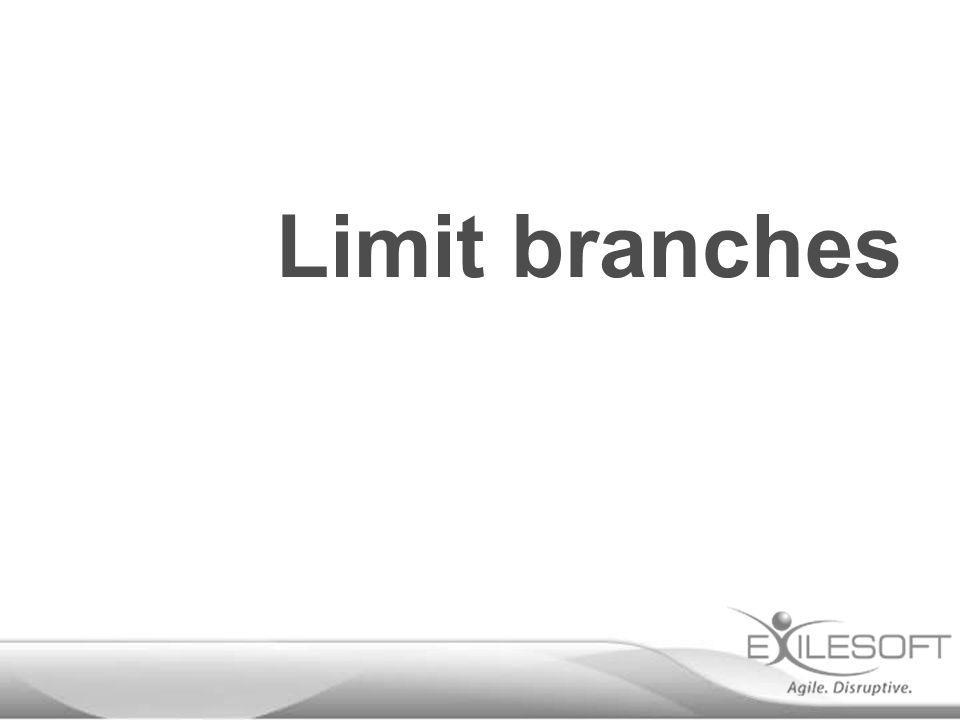 Limit branches