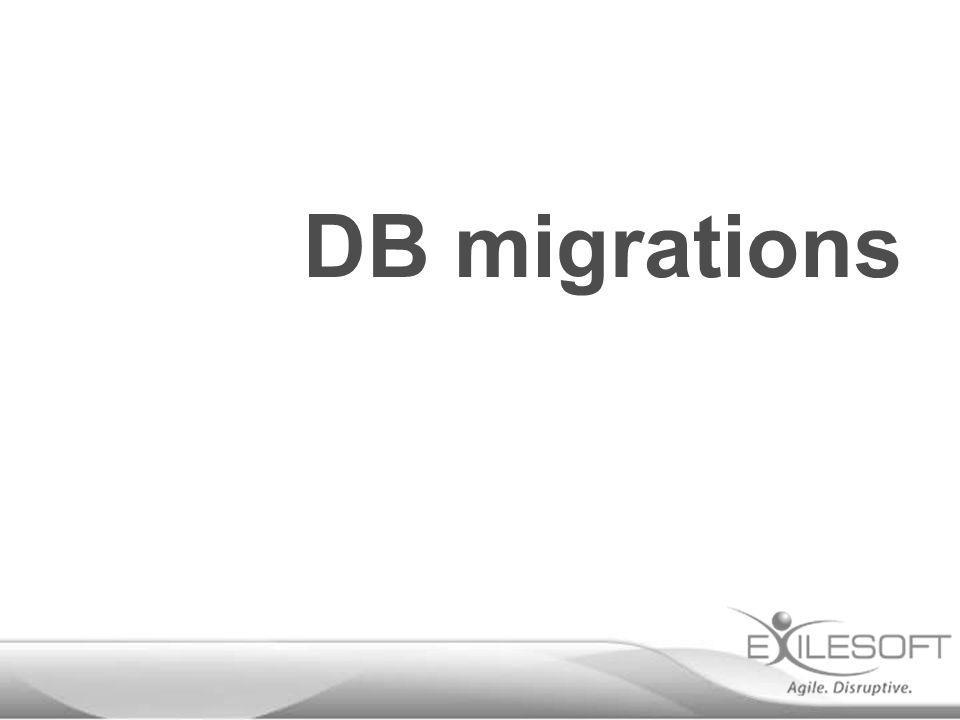 DB migrations