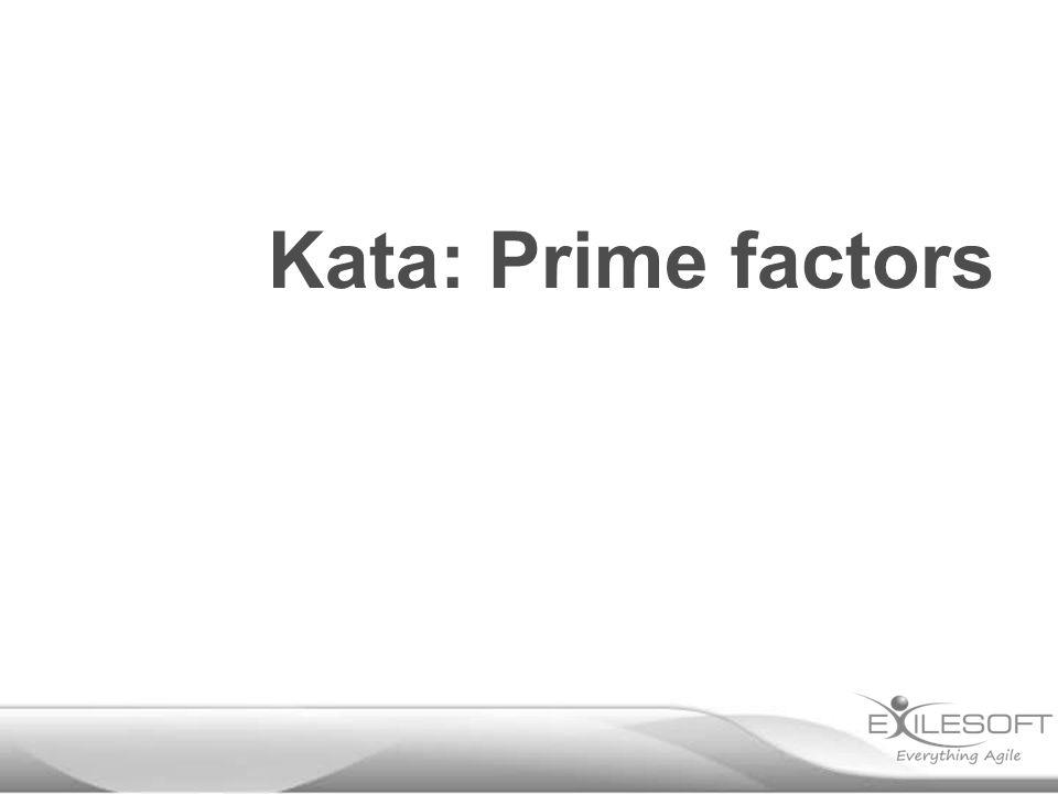 Kata: Prime factors