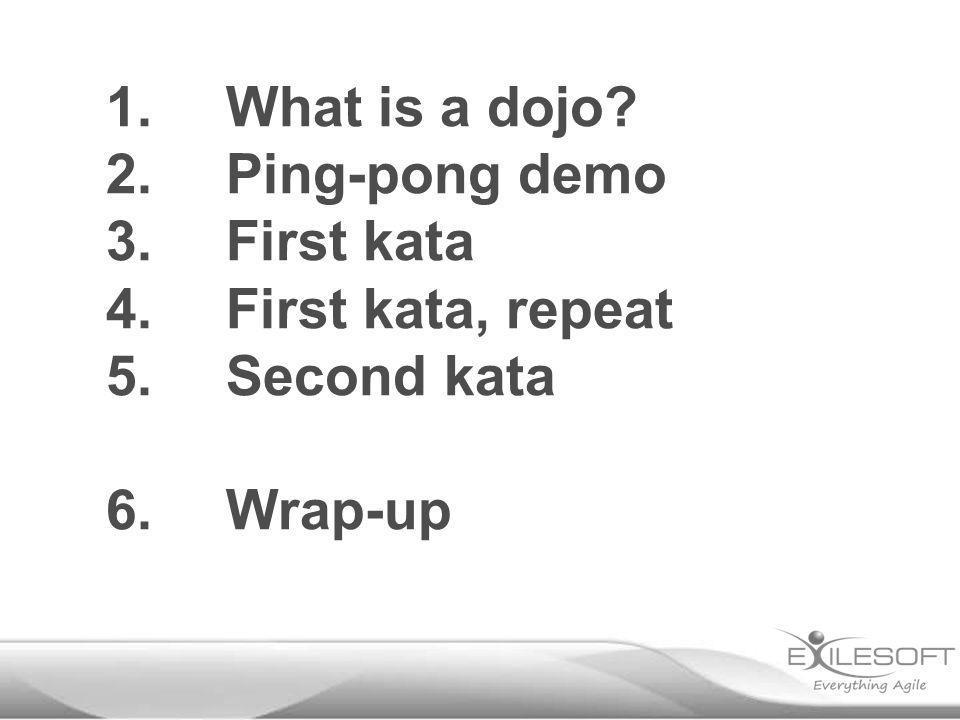 «Coding dojo»?