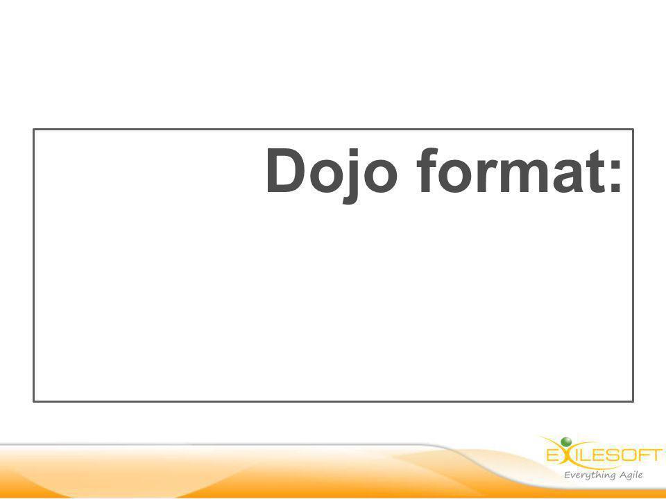 Dojo format: