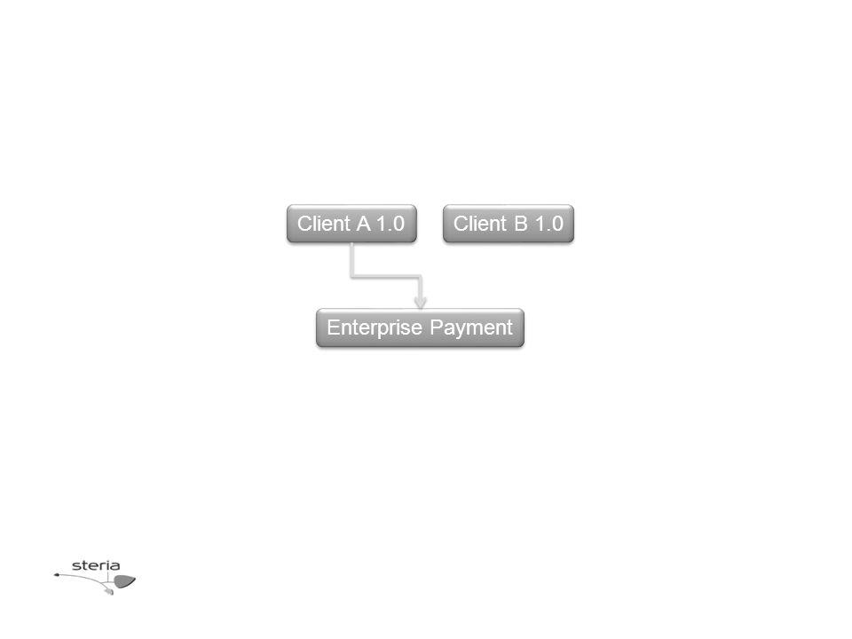 Client A 1.0 Client B 1.0 Enterprise Payment