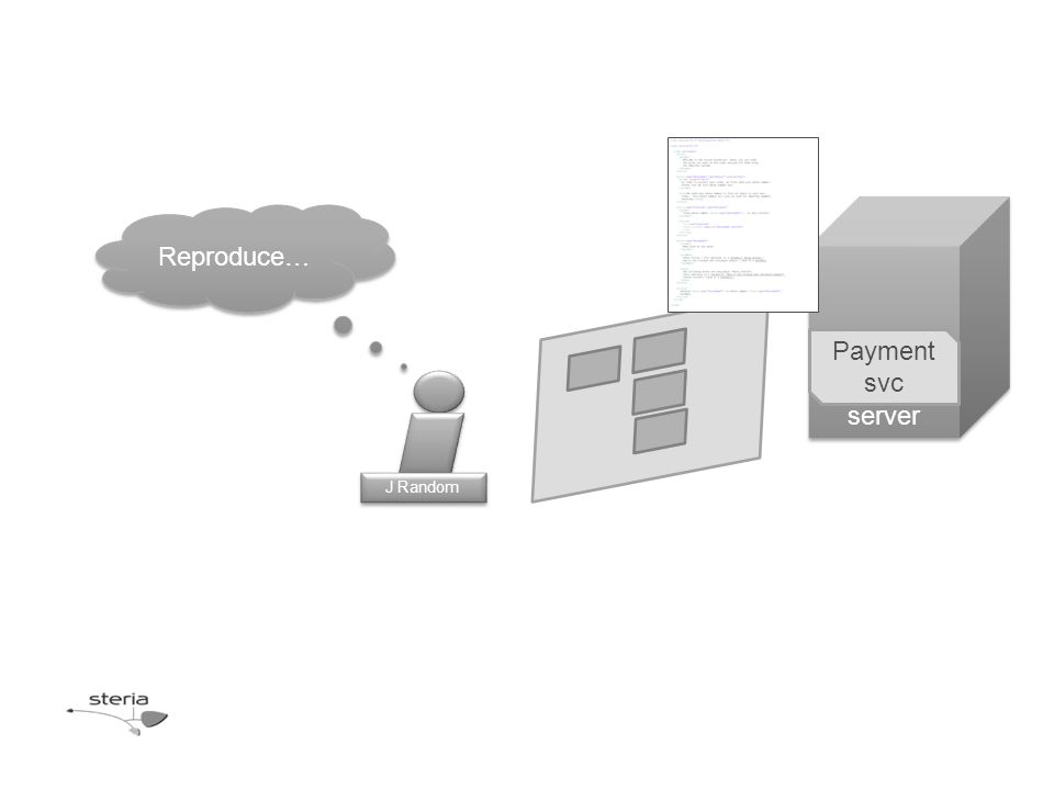 Test server Payment svc J Random Reproduce…