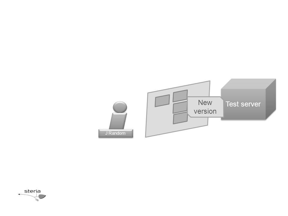 J Random Test server New version
