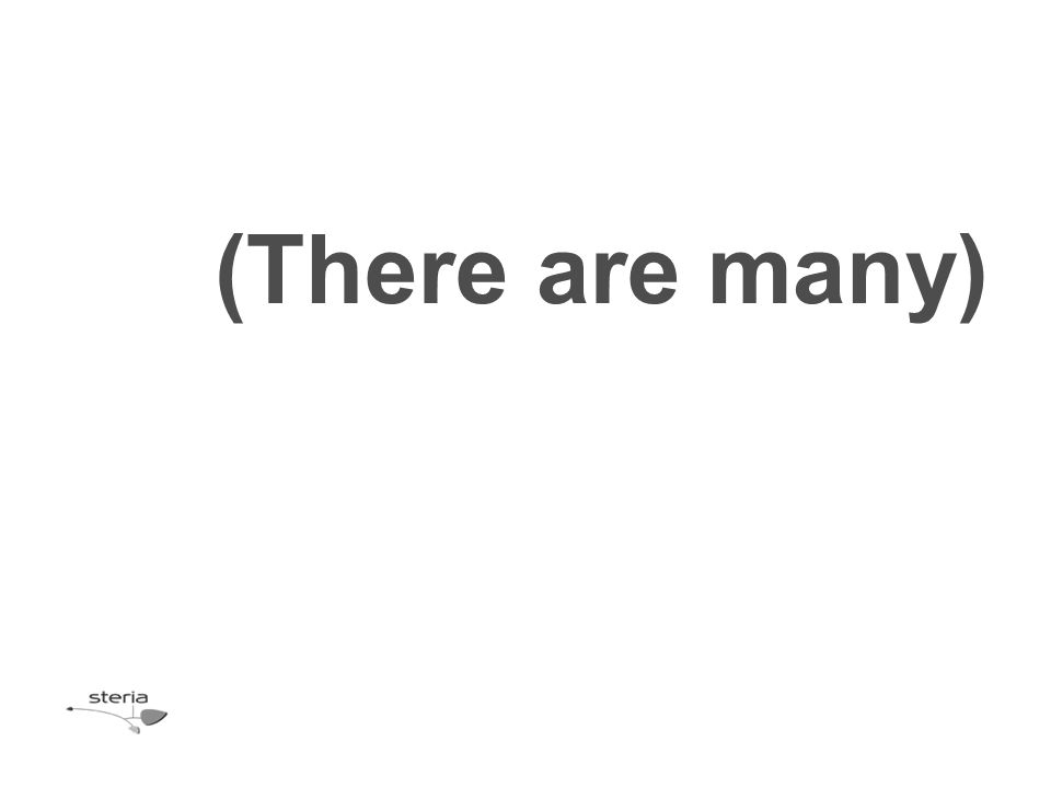 (There are many)